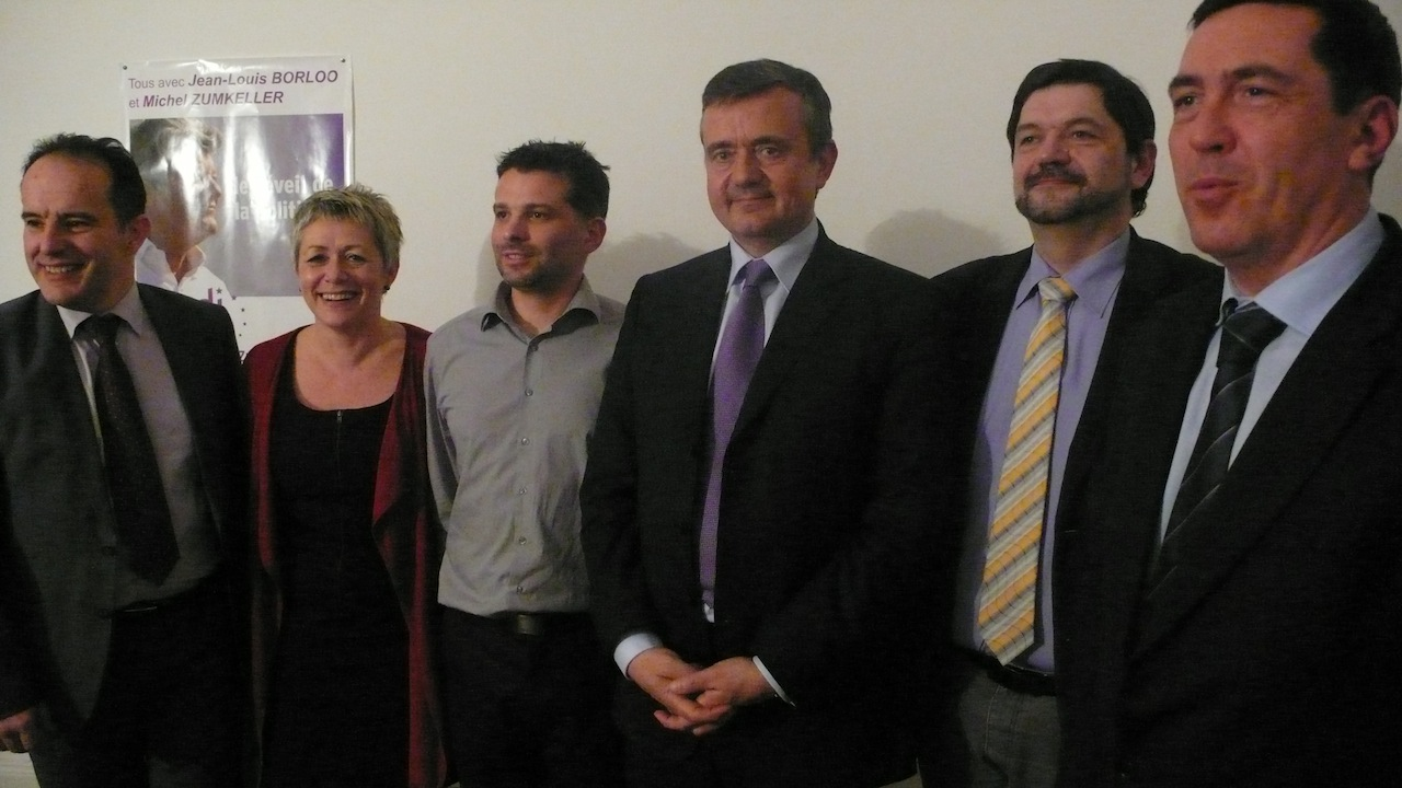 Michel Zumkeller, Nathalie Bertin, John Huet, Yves Jégo, Didier Klein, Loïc Cavagnac