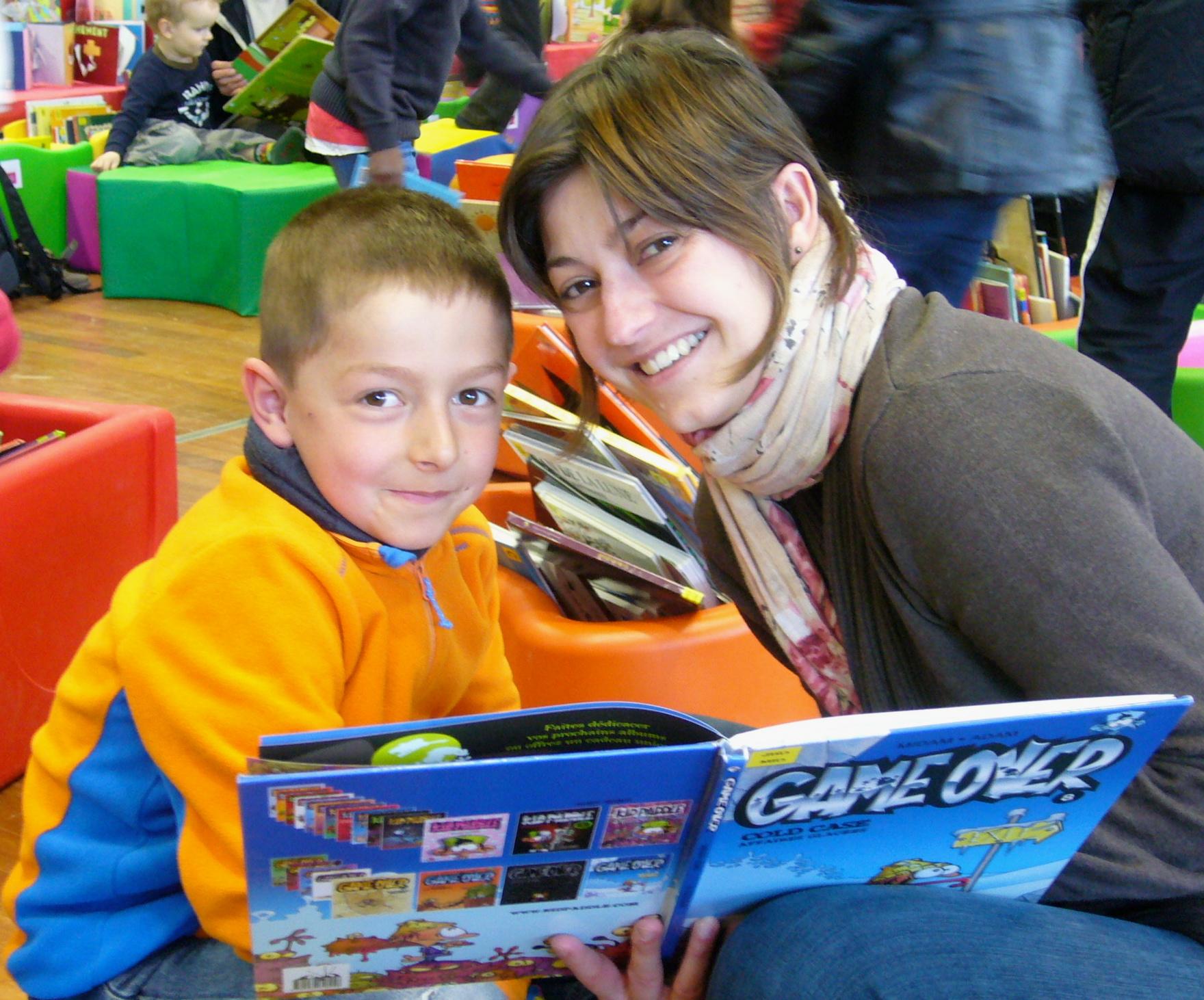 Festival livre jeunesse Dole