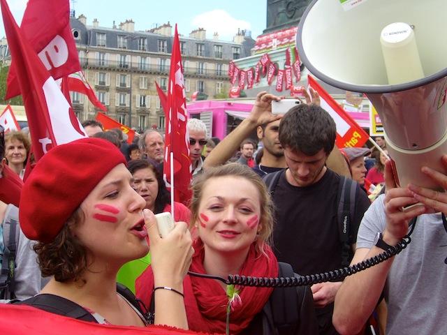Marche citoyenne du Front de gauche. Photo RV