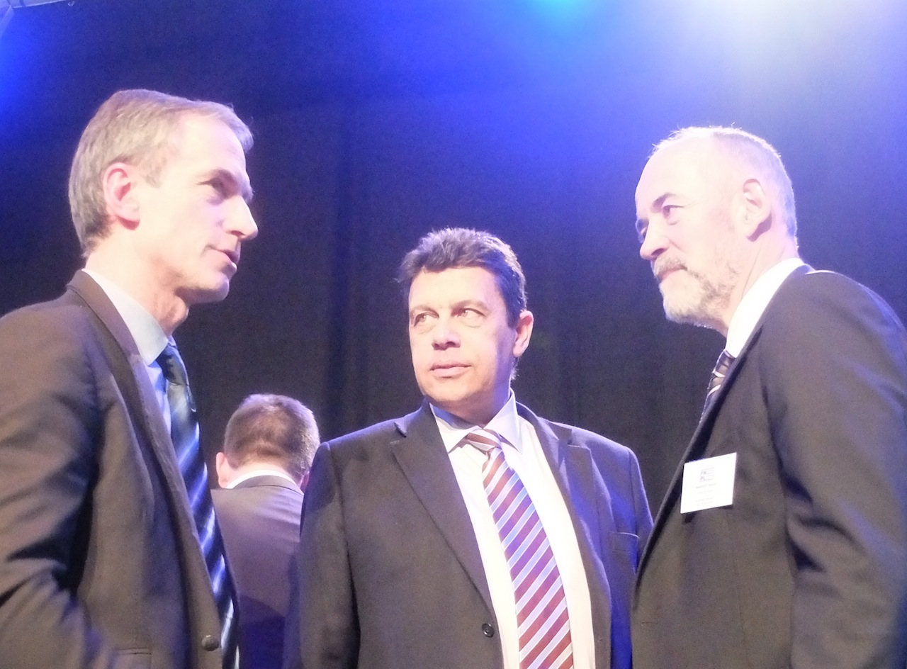 Thierry Roquefeuil, Xavier Beulin, Martial Marguet