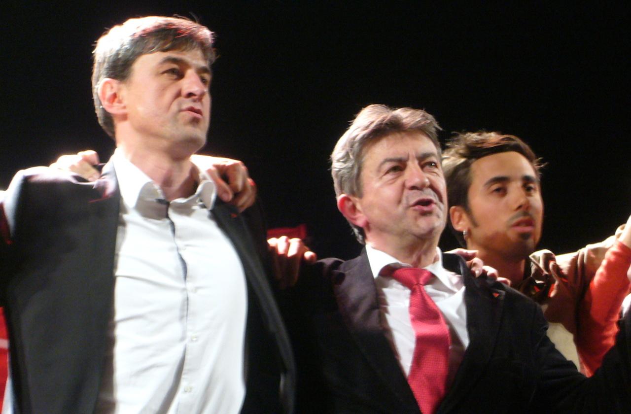 Emmanuel Girod, Jean-Lus Mélechon, municipale Besançon