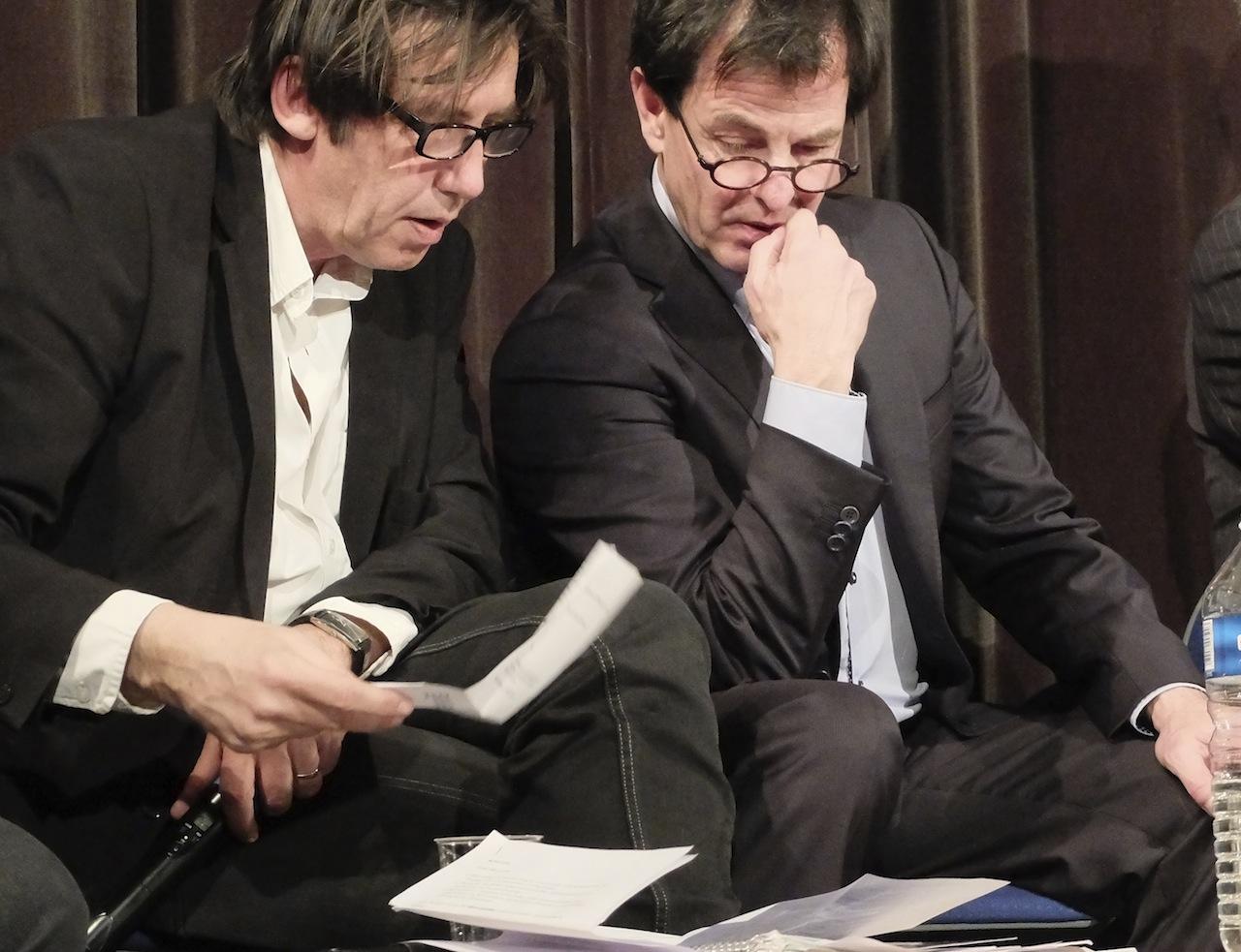 Jean Pétrement et Jacques Grosperrin