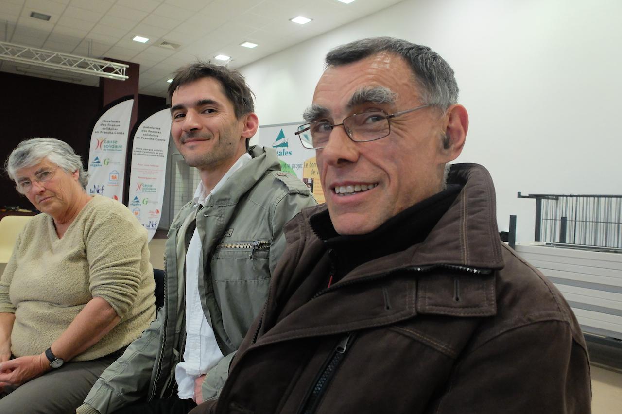 Hervé Maillot et Jean-Jacques Bret