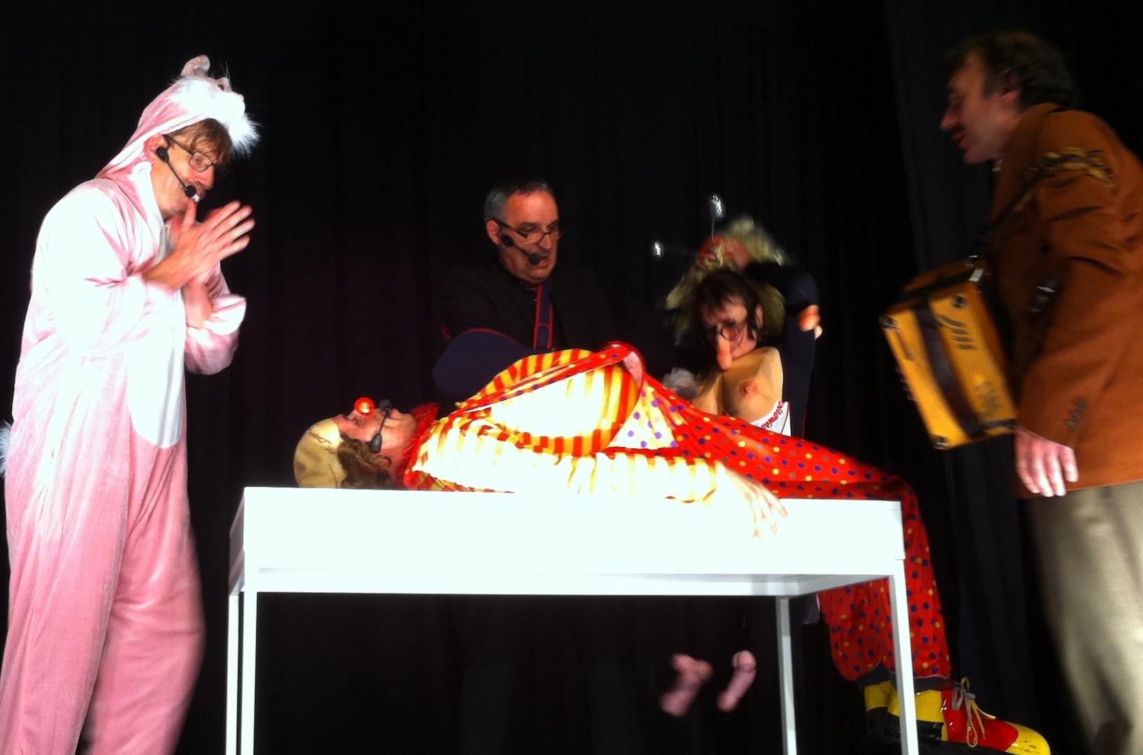 Comique, du Théâtre Group'