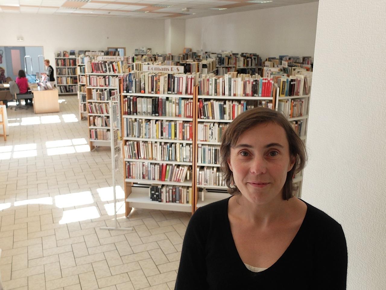 Agnès Morteau, directrice de la médiathèque de Saint-Claude