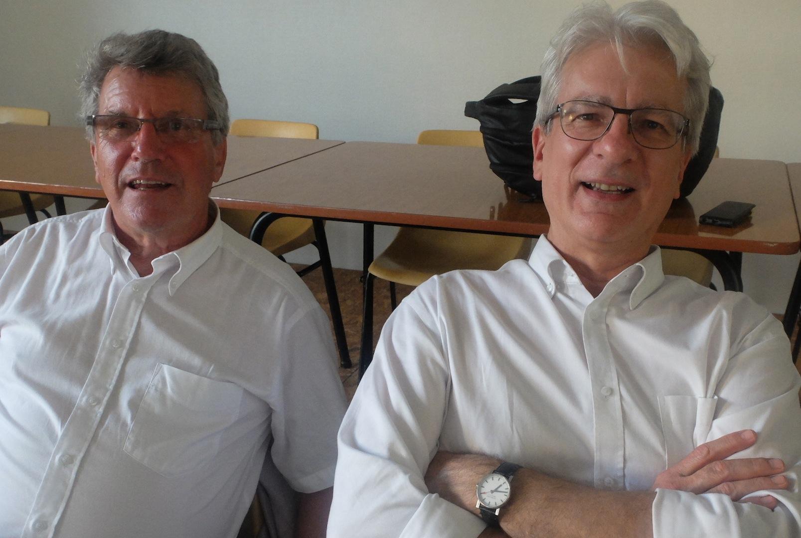 Gérard Magnin et Dominique Bourg