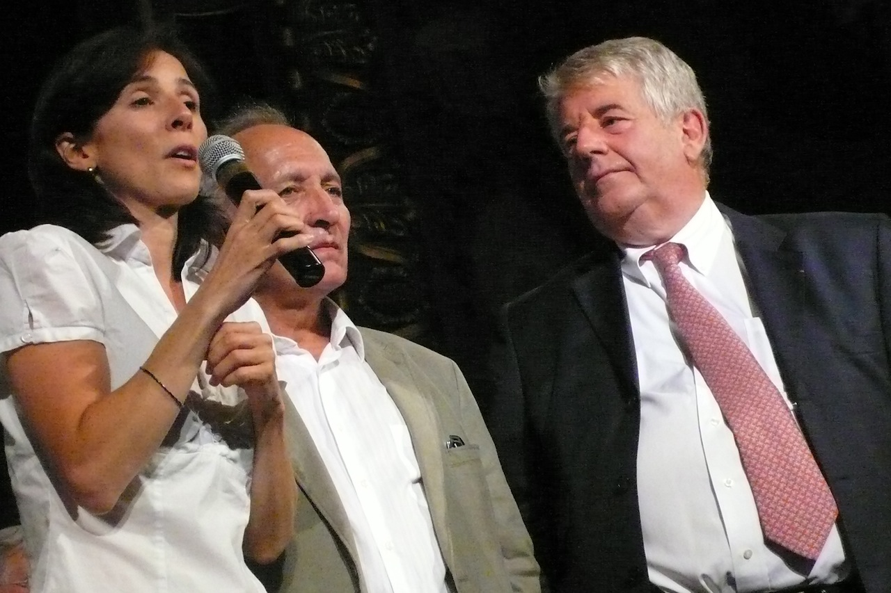 Jean-Louis Fousseret, Barbara Romagnan, le 17 juin 2012.
