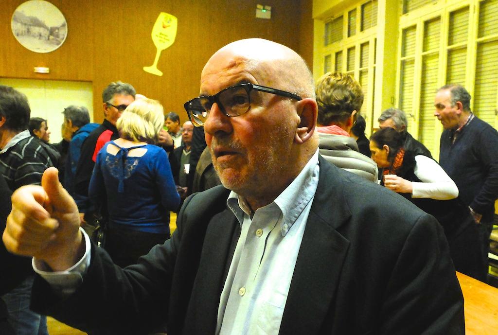 Roger Rey, maire de Conliège, enrôlé in extremis par Christophe Perny comme candidat de la majorité départementale.