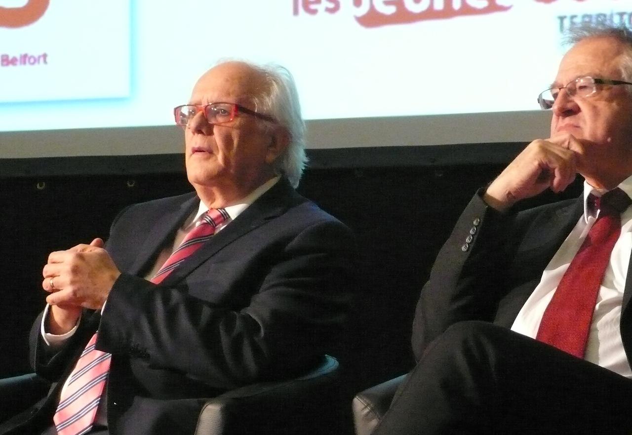 Le président sortant Yves Ackermann (à g) conservera-t-il son fauteuil ? Tout reste possible... Photo d'archives
