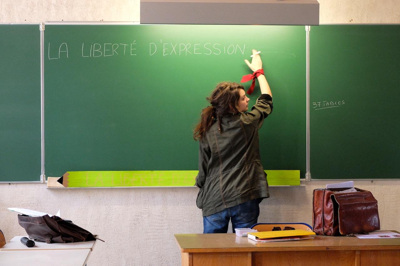 La liberté d'expression a des limites, notamment celles de l'interdépendance, mais elle comprend aussi la liberté d'enquêter... Ph DB