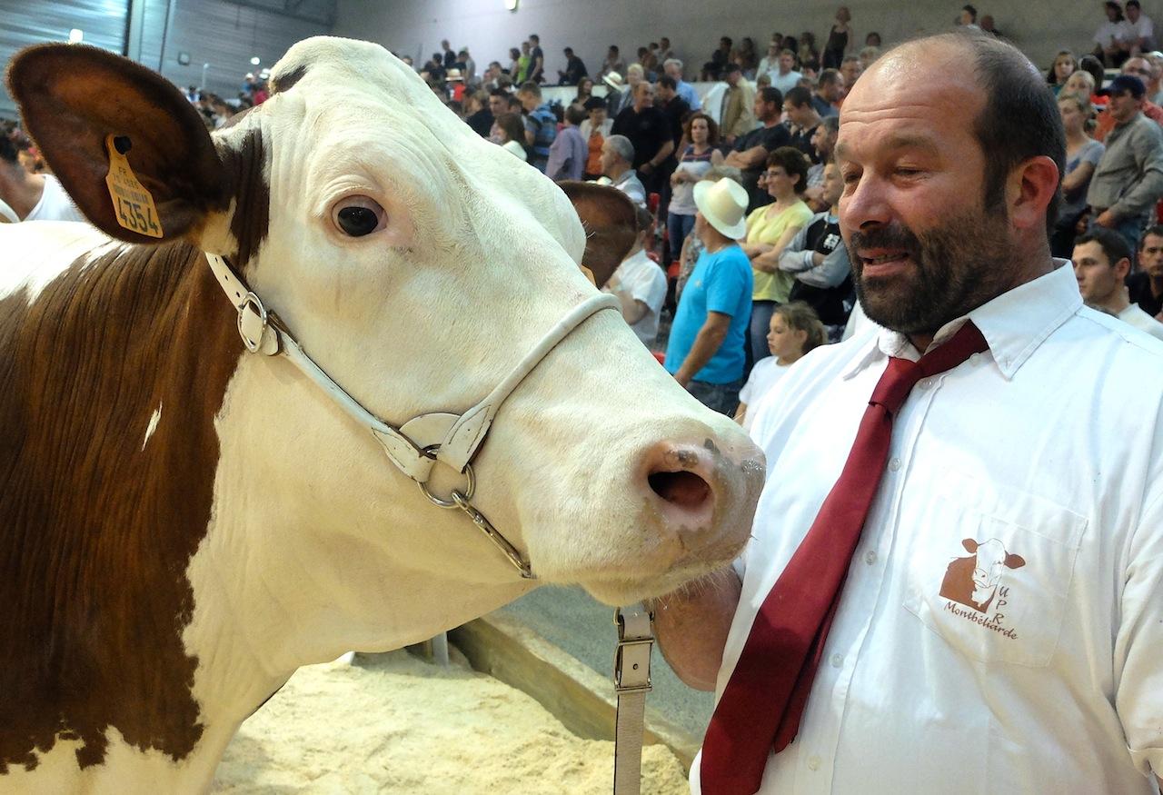 Finesse est grande championne, Bruno Lambert est ému aux larmes. Photos DB