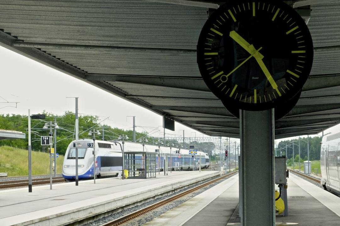 Le TGV de 10 h 30 à la gare-patate d'Auxon pour Paris sera-t-il supprimé ?