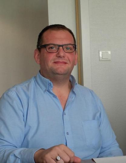 Stéphane Fréchard : « je sais ce qu'est une urgence, mais aussi comment l'aborder avec calme. » Photo d'archives DB