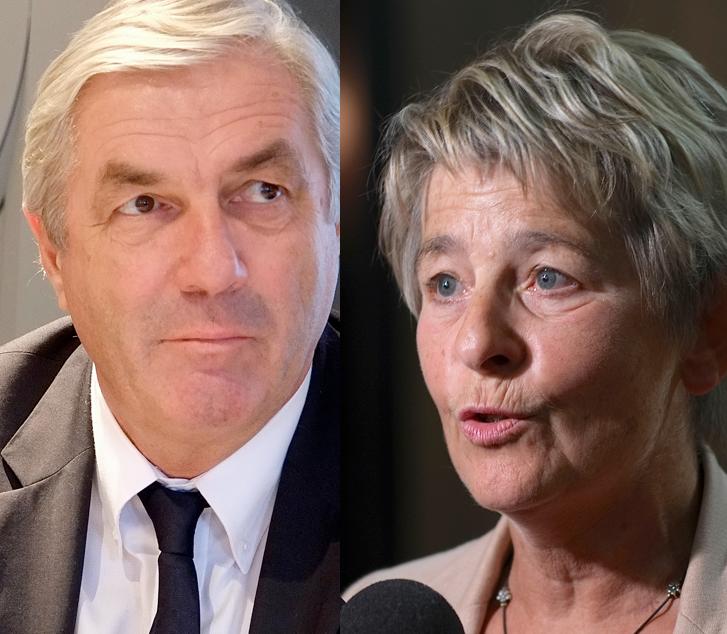 François Sauvadet (UDI) ou Marie-Guite Dufay (PS). Pour Factuel, il faut voter pour l'un ou l'autre car l'urgence absolue est d'empêcher le FN de diriger la région Bourgogne-Franche-Comté pendant six ans. Photos D.B.