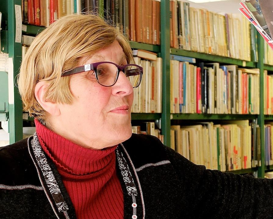 Annie Verdy, bibliothèque de la Rodiaceta à Besançon