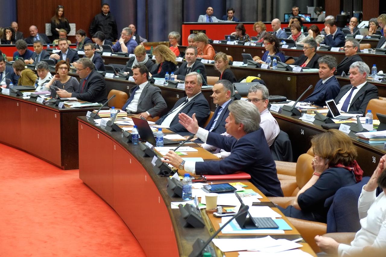 Session budgétaire au conseil régional Bourgogne-Franche Comté