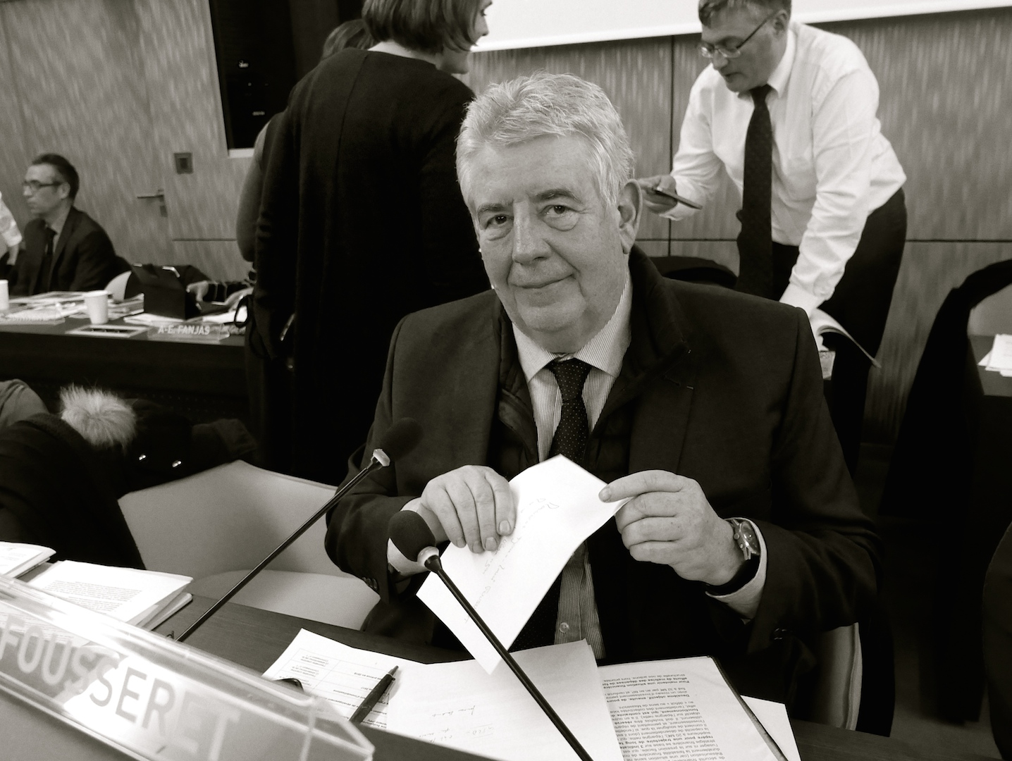 Jean-Louis Fousseret : « Il y a 35 ans de dette à résorber, ce n'est ni de droite ni de gauche, c'est une obligation, il n'y a pas d'alternative... » (Photos Daniel Bordur)