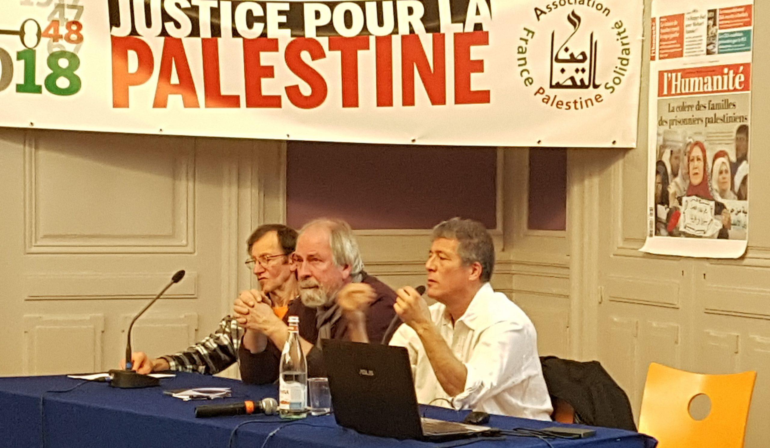 Pierre Barbancey expose la situation en Palestine occupée