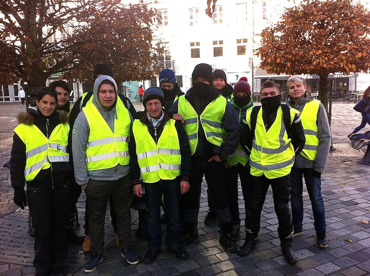 Gaétano, gilet jaune et militant CGT : « la population est derrière nous »