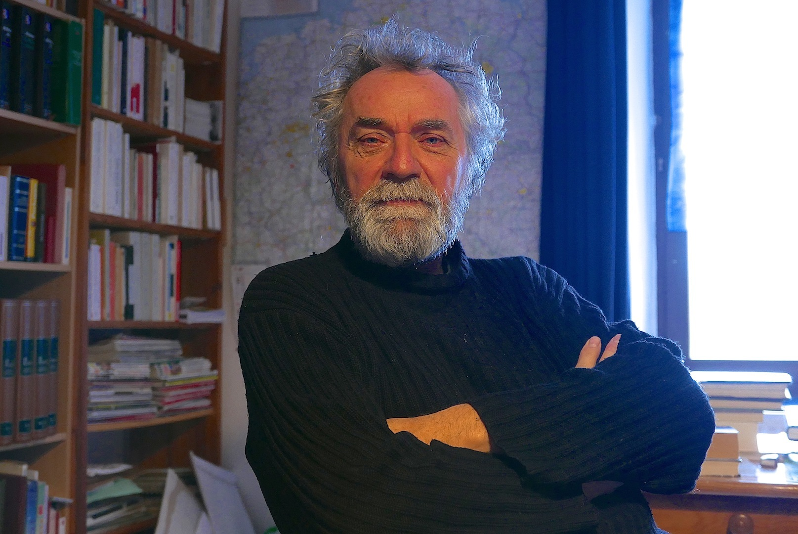 Guy Boley dans son bureau (photos Daniel Bordur)