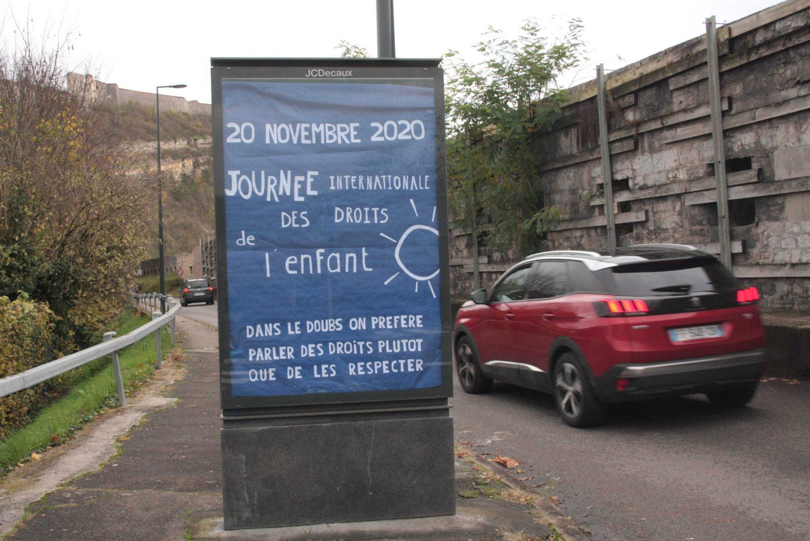 Département du Doubs journée internationale des droits de l'enfant