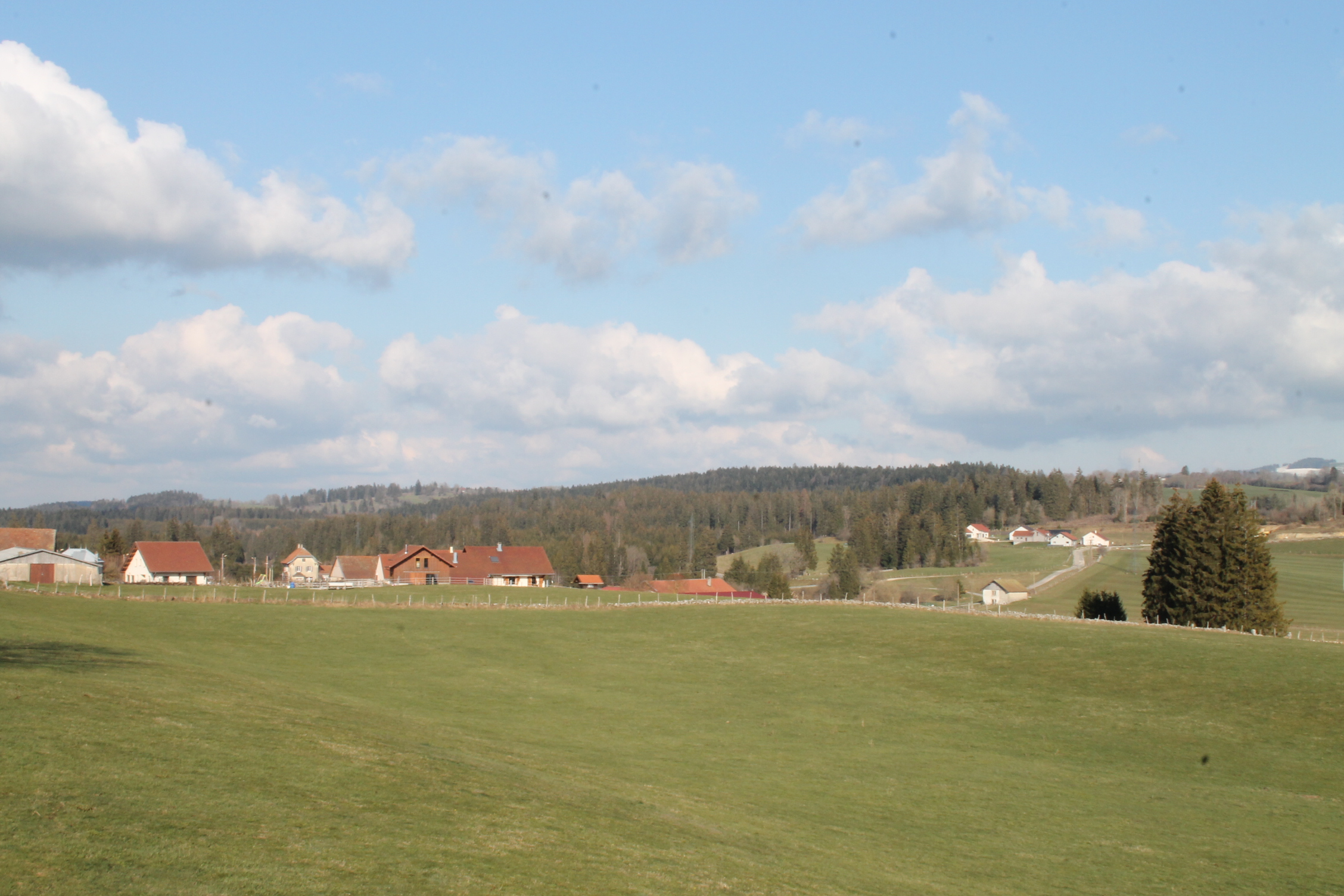 paysage du haut doubs